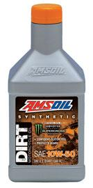 AMSOIL 10W-50 Dirt Bike Oil - DB50