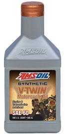 SAE 60 Synthetic V-Twin Motorcycle Oil MCS